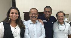 Vereadores são recebidos pelo Prefeito de Vespasiano em Minas Gerais