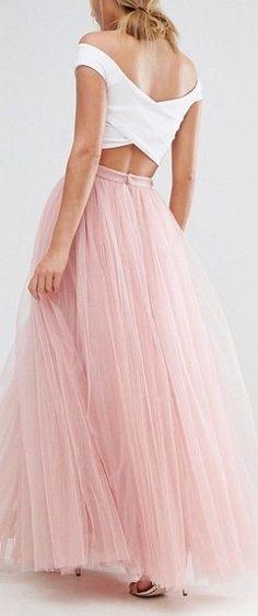 Little Mistress Tulle Maxi Skirt