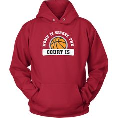 Show how proud Basketball NBA fan you are wearing Home is where the court is Tee. Check more Basketball t-shirts & hoodies. Great designs sport apparel. If you want different color, style or have an i