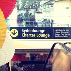 Like last year, Stavanger Airport, Sola welcomes all its passengers to the Mediterranean ('Syden') - before the journey goes on to, for instance, the Mediterranean. This year's tropical lounge is now in place and ready for summer!