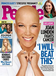 Your daily dose of #inspiration: The latest cover of People magazine features the beautiful Joan Lunden who's currently battling breast cancer.  #breastcancer #cancer #pinklink #pink #pinkforbreastcancer #survivor #breastcancerawareness #cancersupport #pinkribbon #fightbreastcancer #cancersucks #cancersurvivor #findacure