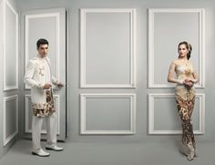 Indonesian Bride & Groom designed by: Brutus and Anne Avantie
