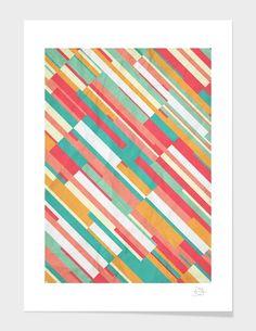 "Curioos.com | ""Drop Lines"" by danny ivan  - Gallery Quality Art Print"