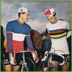Raymond Poulidor & Rik van Looy
