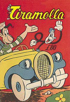 fumetti anni 40 50 60- Ingenuo Tiramolla