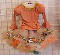 Ninachka Couture Autumn Hand Painted - You have to see it!  The Skirt is amazing!