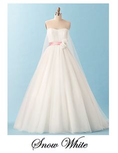 1000 Images About Disney Princess Wedding Gowns On Pinterest