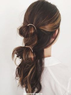 double circle barrette hair the beauty dept