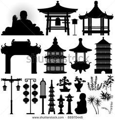 elements of chinese architecture - Google Search