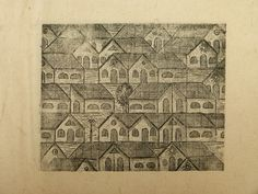 the print (on handmade paper) Vintage World Maps, Paper, Handmade, Hand Made, Craft