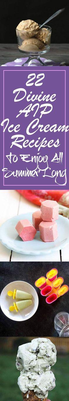 22 Divine AIP Ice Cream Recipes  To Enjoy All Summer Long https://paleomagazine.com/aip-ice-cream-recipes/