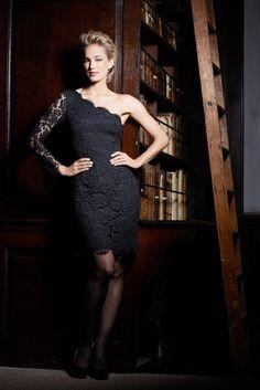 Zarah One shouldered lace dress Irish Design, Fashion Over, Style Inspiration, Style Ideas, Timeless Design, Lace Dress, Glamour, Opening Night, Elegant