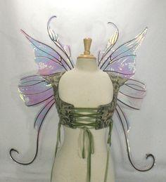 Faerie Queen Large Iridescent Fairy Wings