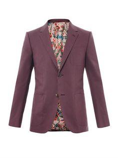 New Signoria two-button blazer | Gucci | MATCHESFASHION.COM