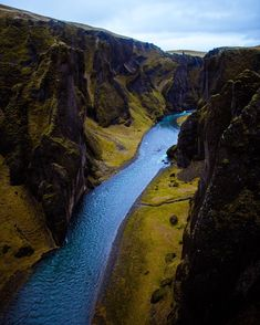 Fjadrárgljúfur in Iceland. _________________ If this isnt in your bucketlist already, then write it down right now. Write It Down, Right Now, Iceland, Writing, Amazing, Water, Outdoor, Instagram, Water Water