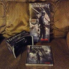 An awesome Virtual Reality pic! HAD to have this when I saw it in the store this past weekend! #MyMegadeth #Megadeth #Dystopia #VirtualReality #CD #VicRattlehead #Metal #Metalhead #Headbanger #LimitedEdition #Badass by michaelhuffman73 check us out: http://bit.ly/1KyLetq