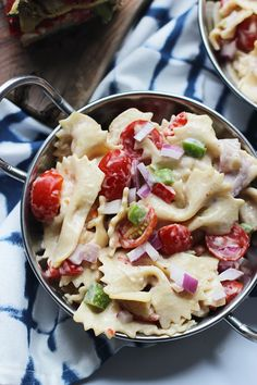 Perfect Pasta Salad - No really, the best pasta salad you'll ever make. For real.