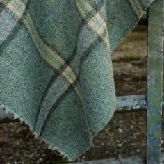 Bodkin Plaid - Tarn, Ian Sanderson Upholstery and Curtain Fabrics