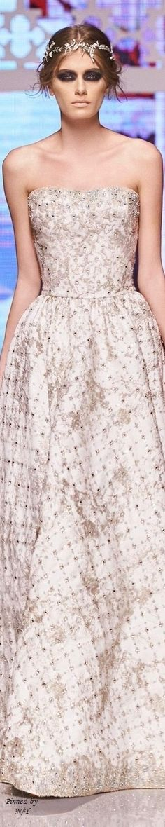 Shady Zeineldine Couture Spring-Summer 2016