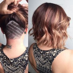 Angular Lob with Undercut