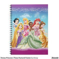 Disney Princess | Tiana Featured Center. Regalos, Gifts. #notebook #cuaderno