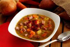 Paleo Ham & Sweet Potato Soup Recipe   Paleo Newbie (make in crockpot and add coconut milk in the last 30 minutes)