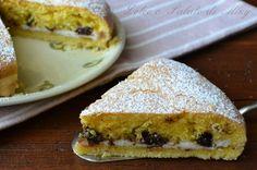 Torta farcita con ricotta e cioccolato, una torta a tre strati tutta da scoprire.