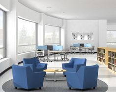 We have a similar curved walls in Newman--how would you like to work in a space like this? What else would you need?