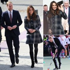 Kate Middleton Glows in Glasgow During Royal Visit With Prince William, April 2013