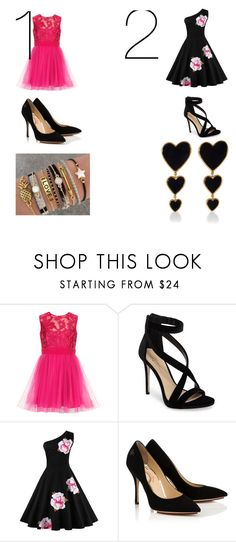 """""""his set is for you my followers"""" by sahrinaerobson24 ❤ liked on Polyvore featuring Imagine by Vince Camuto, Dollhouse and Edie Parker"""