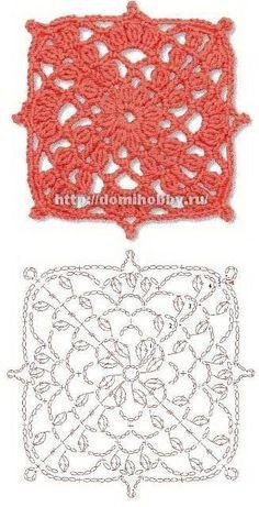 Transcendent Crochet a Solid Granny Square Ideas. Inconceivable Crochet a Solid Granny Square Ideas. Motifs Granny Square, Granny Square Crochet Pattern, Crochet Blocks, Crochet Diagram, Crochet Squares, Granny Squares, Crochet Art, Irish Crochet, Crochet Geek