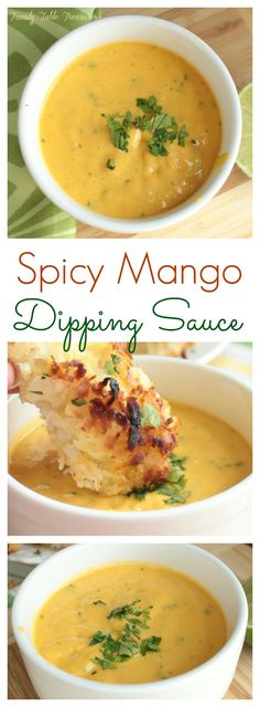 Spice up your Chicken Tenders with this Spicy Mango Dipping Sauce! A little bit of sweet, a little bit of spicy and whole lot of delicious! Sauce Recipes, Cooking Recipes, Healthy Recipes, Cooking Tips, Homemade Sauce, Fruit Dips, Fruit Platters, Food Processor Recipes, The Best