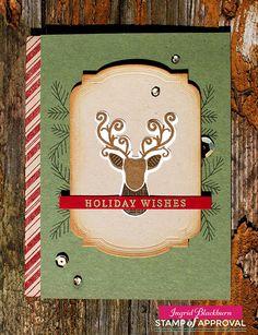 Masculine Christmas Cards - Ingrid Blackburn