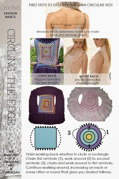 DiaryofaCreativeFanatic - Circular Shrugs also links to 4 free patterns