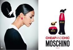"MOSCHINO- Cheap & Chic. The Nice olive, eternal Popeye's girlfriend, is the inspiration for the vial, the wonderful collection of ""Cheap & Chic"" of Moschino fragrances As it is, this pretty in love with Dolly, who lives freely and sure of herself, carefree in his whimsical world, is the Muse of an adventure that began in 1995 with the brand of perfume ""Cheap & Chic"" of the Italian design house Moschino."