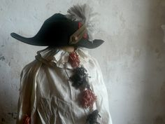 antique pierrot costume
