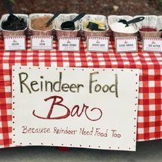 Reindeer Food Bar D.I.Y.   BabyZone
