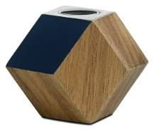Lovely raw texture in this candle holder - geometric form is very on trend at the moment.  www.boconcept.co.uk