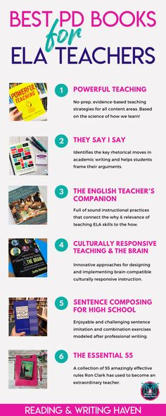 Dive into these inspiring, pedagogically sound professional development books for English teachers. Find approaches to inspire your teaching and level-up learning. High School Classroom, English Classroom, Math Classroom, English Teachers, History Classroom, Classroom Ideas, Flipped Classroom, Teaching English, High School History