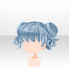 Anime Poses Reference, Hair Reference, Kawaii Hairstyles, Chibi Hairstyles, Eye Drawing Tutorials, Drawing Tips, Drawing Ideas, Character Design Tips, Pelo Anime