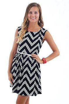 """Stomp And Holler Dress, Black"""