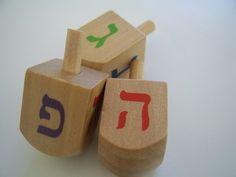 Dreidels, Hanukkah, Spinning Tops