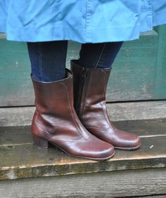 Vintage Rubber Boots ...cute!!