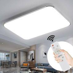 60CM Led Deckenlampe Deckenleuchte Wohnzimmer Elegant Decken leuchte kaltweiß DE