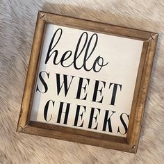 more cheeky bathroom signs 😂🥰⠀ Making Signs, How To Make Signs, Sweet Cheeks, Bathroom Signs, Bathrooms, Projects To Try, Crafts, Instagram, Home Decor