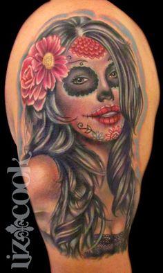 59 Tatuagens de Catrina | Leles Tattoo