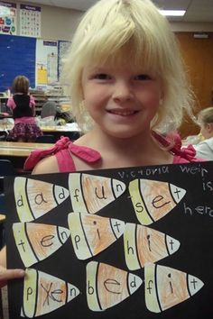Short vowel candy corn :)