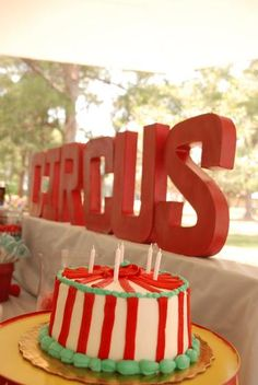 Hostess with the Mostess® - Dual Circus Birthday Party
