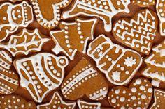 Świąteczne pierniczki z miodem