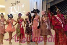 Puteri Indonesia 2015 contestants for fashion show